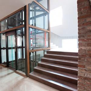 Osobní výtah zámek Valeč