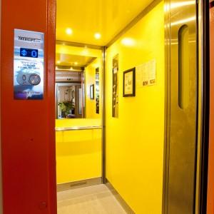 Kabina osobního výtahu pro panelový dům v Třebíči od VÝTAHY, s.r.o.
