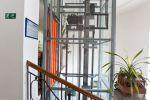 Umístění proskleného výtahu Třebíč