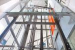 Umístění proskleného výtahu vyrobeného na Vysočině