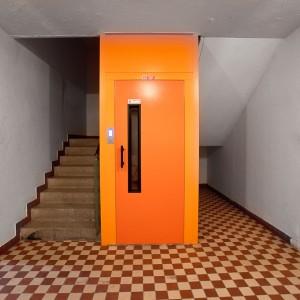 Moderní osobní výtah Vysočina