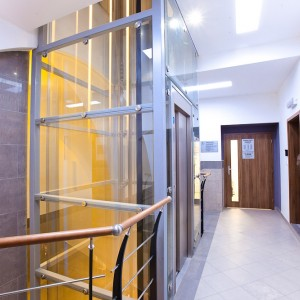 Moderní osobní výtah vyrobený na Vysočině