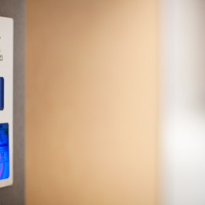 Kabina hydraulického výtahu obecní úřad Rouchovany