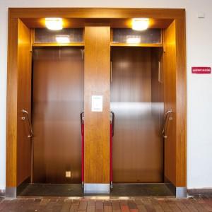 Oběžný výtah na Fakultě strojního inženýrství – VUT v Brně